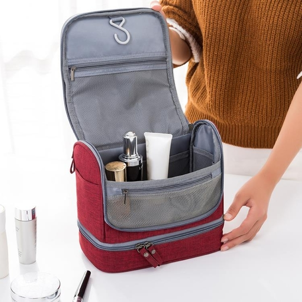 旅行收納袋 旅行洗漱包防水化妝包男士出差便攜收納包袋套裝女大容量旅游用品【限時八折】