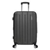 歐爾森拉鏈行李箱-深鐵灰(24吋)【愛買】