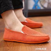 老北京布鞋男春季單鞋軟底鞋子男一腳蹬懶人開車休閒鞋透氣豆豆鞋  JSY時尚屋