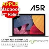 "TWMSP★按讚送好禮★EyeScreen Macbook 12"" Retina 靜電式低反射護眼抗污 螢幕保護貼"