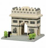 《 Nano Block 迷你積木 》【世界主題建築系列】NBH - 075 凱旋門 ╭★ JOYBUS玩具百貨