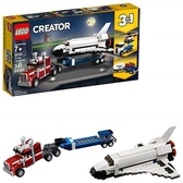 LEGO 樂高 Creator 3in1 Shuttle Transporter 31091, 2019 (341 Pieces)