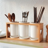 筷子收納盒陶瓷筷子簍家用筷子筒廚房筷子勺子收納置物架筷子籠筷子桶