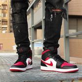 【現貨折後$4080】CLASSICK- NIKE Air Jordan 1 Mid Bred Toe 黑紅 男鞋 紅頭 運動鞋 籃球鞋 喬丹