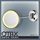 MW0211S-L --圓形單面掛壁LED化妝鏡