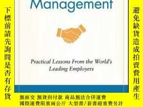 二手書博民逛書店Employer罕見Brand Management: Practical Lessons from the Wo