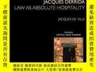 二手書博民逛書店Jacques罕見DerridaY256260 Jacques De Ville Routledge 出版2