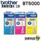 【原廠盒裝墨水/三彩各一】Brother BT5000 適用T系列所有機器