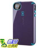[美國直購 ShopUSA] 手機殼 Speck  SPK-A0821 Products CandyShell Glossy Case for iPhone 4/4S - 1 Aubergine/Peacock  $1570