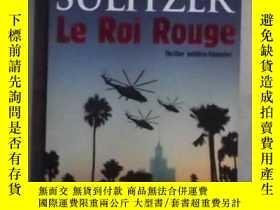 二手書博民逛書店法語原版罕見Le Roi Rouge de Paul-Loup
