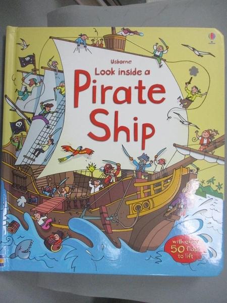 【書寶二手書T1/兒童文學_XGW】Pirate Ship_Stefano Tognetti