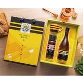 甜蜜四季醋蜜禮盒-(優選Taiwan龍眼蜂蜜425g),特惠88折【養蜂人家】