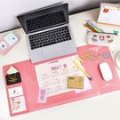 韓國超大號創意電腦辦公桌墊書桌墊滑鼠墊可...