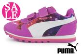 PUMA 女童鞋 漸層炫彩 輕量 慢跑運動鞋 I9588#紫色◆OSOME奧森童鞋/小朋友