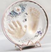 寶寶手足印泥兒童手腳印新生兒禮物嬰兒童腳印滿月百天胎毛紀念品第七公社