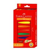【Faber-Castell 輝柏繪畫系列】子彈可擦拭學齡蠟筆 (6色) 122706