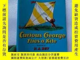 二手書博民逛書店Curious罕見George Flies a Kite 小16