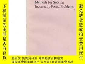 二手書博民逛書店Methods罕見for Solving Incorrectly