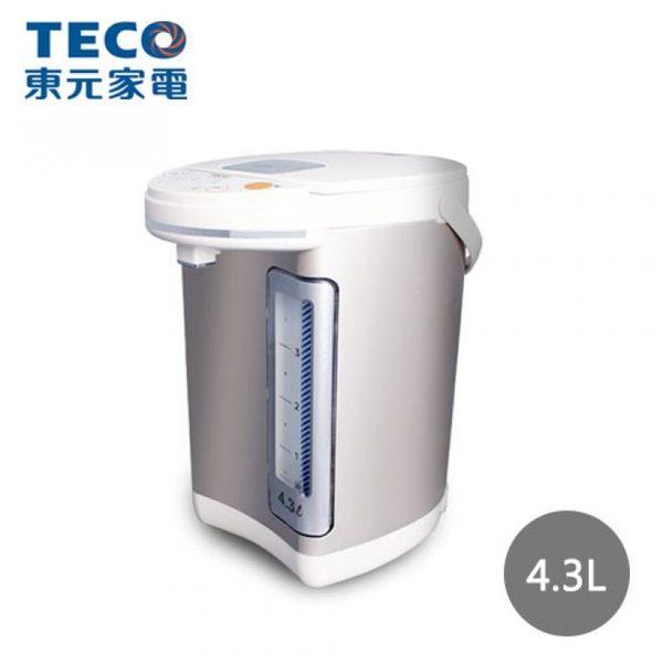 《福利品》*加碼贈Tefal搖搖杯*【TECO 東元】4.3公升 電熱水瓶(YD4301CB)