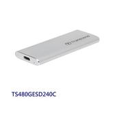 新風尚潮流 創見 行動固態硬碟 【TS480GESD240C】 480GB SSD 支援 USB 3.1 AC 金屬外殼