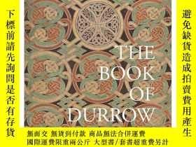 二手書博民逛書店【T&H】The罕見Book of Durrow 德羅之書 Insular art中世紀福音書Y302154