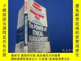 二手書博民逛書店KENNETH罕見BLANCHARD NORMAN VNCENT PEALE THE POWER OF ETHIC