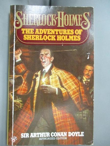 【書寶二手書T3/原文小說_LRG】The Adventures of Sherlock Holmes_Doyle, A