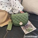 上新質感小包包女2019夏季韓版潮鏈條單肩包小香風菱格斜跨洋氣包 印象家品