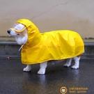 寵物狗雨衣柯基雨衣防水防臟護肚子泰迪比熊雪納瑞中小型犬外出衣【小獅子】