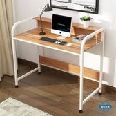 書桌台式桌家用筆記本電腦桌辦公桌書桌書架組合簡易置物架小架子wy