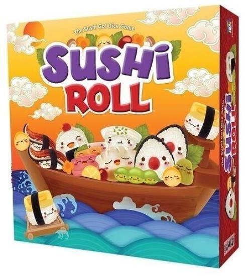 『高雄龐奇桌遊』 迴轉壽司 骰子版 Sushi Roll 附中文說明書 正版桌上遊戲專賣店
