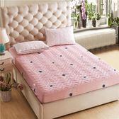 限定款鋪棉單床包/雙人加厚舖棉床包180x200公分席夢思/床墊保護套 床罩/床單 防滑床套保潔墊