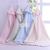包巾嬰兒彩棉包被新生兒薄款抱毯被子裹布寶寶抱被襁褓單被 萬聖節