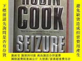 二手書博民逛書店英文原版罕見Seizure by Robin Cook 著Y14