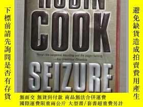 二手書博民逛書店英文原版罕見Seizure by Robin Cook 著Y14