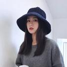 毛帽 英倫新款女帽子冬季時尚韓版潮學生百搭戶外保暖漁夫帽加厚盆帽秋 尾牙