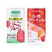 日本光 有機蔬果汁190g(2款可選)