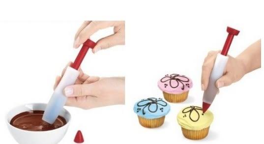 [協貿國際]  蛋糕寫字裱花器  2個價