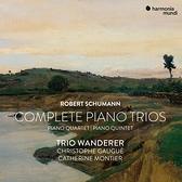 【停看聽音響唱片】【CD】舒曼:鋼琴室內樂全集 流浪者三重奏 高格 中提琴 孟提爾 小提琴 (3CD)