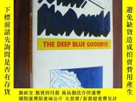 二手書博民逛書店The罕見deep blue goodby 情愛故事Y14681