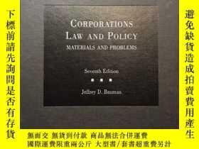 二手書博民逛書店corporation罕見law and policy mate