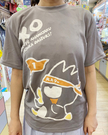 【震撼精品百貨】Bad Badtz-maru_酷企鵝~三麗鷗酷企鵝運動排汗衫-灰#06557