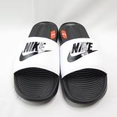 NIKE VICTORI ONE SLIDE 男款 海綿拖鞋 CN9675005 白 大尺碼【iSport愛運動】