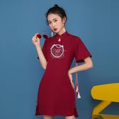 中國風國潮女裝古風衛衣女中式民國風女裝改良唐裝女日常漢服女 瑪麗蘇