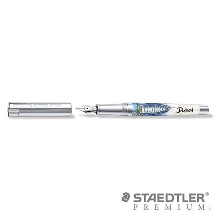 (缺貨中)施德樓 PREMIUM Corium Urbes 城市系列鋼筆 - 杜拜 9PU156 F/M尖 / 支
