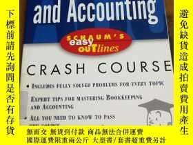 二手書博民逛書店Schaum s罕見Easy Outline Bookkeepi