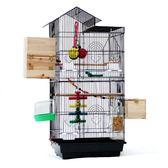 豪華大型繁殖鳥籠鸚鵡籠子金屬不銹鋼八哥籠大號金屬牡丹鷯哥wy【七夕禮物】