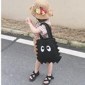 兒童大眼睛側背包男女童搭配手提袋百搭潮流寶寶凹造型背包