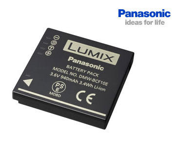 PANASONIC DMW-BCF10 3.6V 940mah 原廠鋰電池 (免運 台灣松下公司貨) BCF10E 有包裝非裸裝