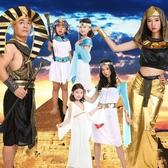 聖誕節兒童雅典娜服裝典雅衣服希臘女神公主服飾cosplay埃及女童 亞斯藍